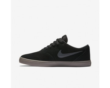 Nike SB Check Solarsoft Mens Shoes Black/Gum Light Brown/Anthracite Style: 843895-003