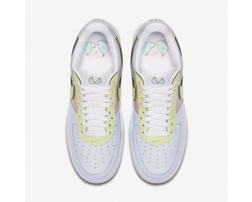 Nike Air Force 1 Low Retro Mens Shoes Titanium/Storm Pink/Lime Ice Style: 845053-500