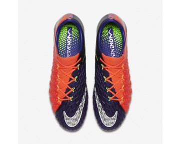 Nike Hypervenom Phantom 3 FG Mens Shoes Deep Royal Blue/Total Crimson/Bright Citrus/Chrome Style: 852567-409