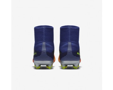 Nike Mercurial Superfly V FG Mens Shoes Deep Royal Blue/Total Crimson/Bright Citrus/Chrome Style: 831940-408