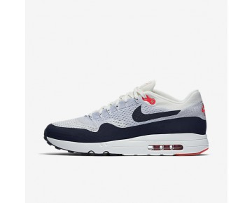 Nike Air Max 1 Ultra 2.0 Flyknit Mens Shoes Sail/Wolf Grey/University Red/Obsidian Style: 875942-100