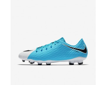 Nike Hypervenom Phelon 3 FG Mens Shoes Photo Blue/White/Chlorine Blue/Black Style: 852556-104