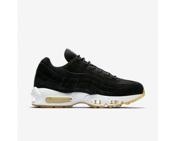 Nike Air Max 95 Premium Mens Shoes Black/Muslin/White/Black Style: 538416-004