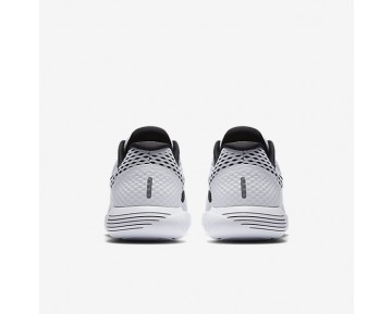 Nike LunarGlide 8 Mens Shoes White/Black Style: 843725-101