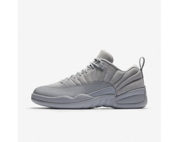 Air Jordan 12 Retro Low Mens Shoes Wolf Grey/Electrolime/Armoury Navy Style: 308317-002