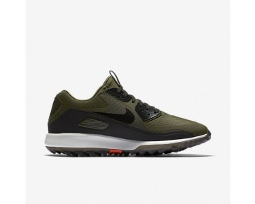 Nike Air Zoom 90 IT Mens Shoes Cargo Khaki/Summit White/Max Orange/Black Style: 844569-300