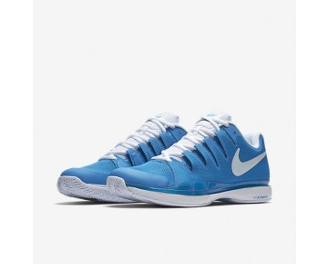 NikeCourt Zoom Vapor 9.5 Tour Mens Shoes Light Photo Blue/White Style: 631458-404