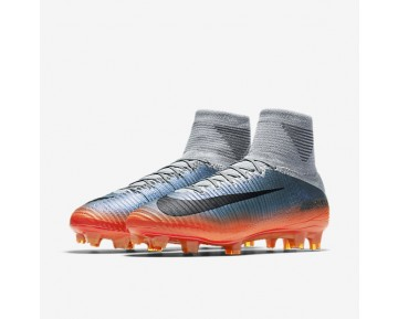 Nike Mercurial Superfly V CR7 FG Mens Shoes Cool Grey/Wolf Grey/Total Crimson/Metallic Hematite Style: 852511-001