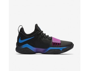 Nike PG1 Mens Shoes Black/Photo Blue/Blue Fury/Deep Royal Blue Style: 878627-003