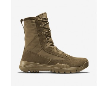 """Nike SFB Field 8"""" (20.5cm approx.) Leather Mens Shoes Coyote/Coyote Style: 688974-220"""