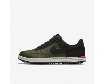 Nike Lunar Force 1 G Mens Shoes Cargo Khaki/Max Orange/Light Bone/Black Style: 818726-300