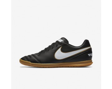 Nike Tiempo Rio III IC Mens Shoes Black/White Style: 819234-010