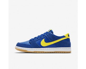 Nike SB Dunk Low Pro Mens Shoes Varsity Royal/White/Gum Light Brown/Lightning Style: 854866-471