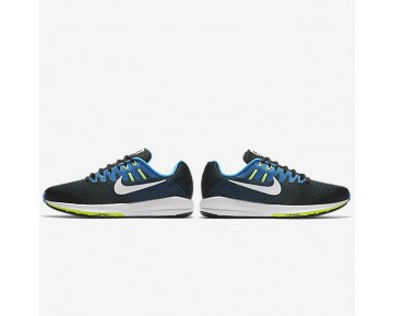 Nike Air Zoom Structure 20 Mens Shoes Black/Photo Blue/Ghost Green/White Style: 849574-004