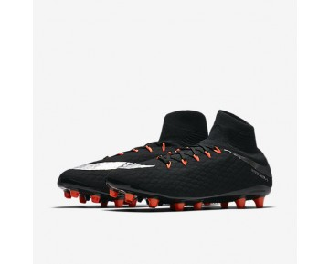 Nike Hypervenom Phatal 3 DF AG-PRO Mens Shoes Black/Black/Anthracite/Metallic Silver Style: 860644-001