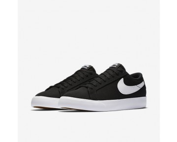 Nike SB Blazer Vapor Textile Mens Shoes Black/White Style: 902663-010
