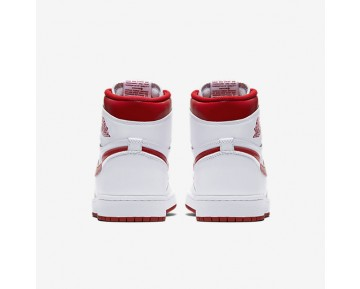 Air Jordan 1 Retro High OG Mens Shoes White/Varsity Red Style: 555088-103