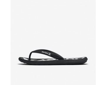 Hurley One And Only Printed Mens Shoes Black Style: HUR153-001
