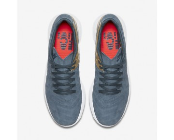 Nike Roshe Tiempo VI FC Mens Shoes Blue Fox/Metallic Gold/College Navy/Blue Fox Style: 852613-400