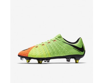 Nike Hypervenom Phantom 3 SG-PRO Anti-Clog Mens Shoes Electric Green/Hyper Orange/Volt/Black Style: 889285-303