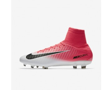 Nike Mercurial Veloce III Dynamic Fit FG Mens Shoes Racer Pink/White/Black Style: 831961-601