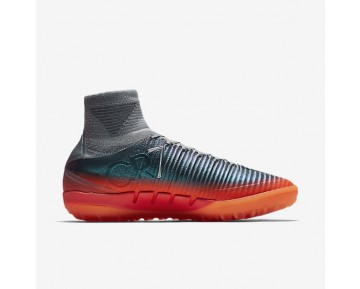 Nike MercurialX Proximo II CR7 TF Mens Shoes Cool Grey/Wolf Grey/Total Crimson/Metallic Hematite Style: 878648-001