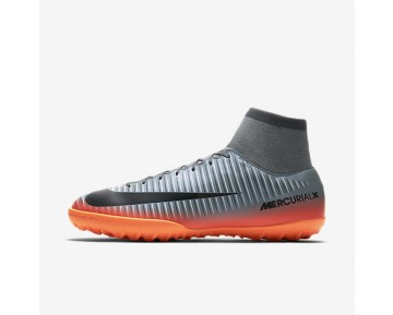 Nike MercurialX Victory VI CR7 TF Mens Shoes Cool Grey/Wolf Grey/Total Crimson/Metallic Hematite Style: 903612-001