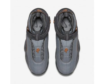 Nike Air Penny IV Mens Shoes Wolf Grey/Anthracite/Metallic Copper Coin Style: 864018-002