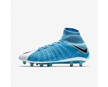 Nike Hypervenom Phantom 3 DF AG-PRO Mens Shoes Photo Blue/White/Chlorine Blue/Black Style: 852550-104