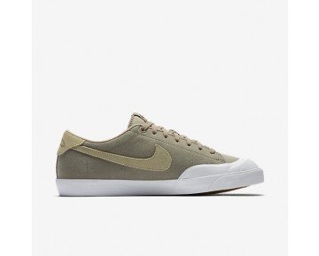 Nike SB Zoom All Court CK Mens Shoes Khaki/White/Gum Light Brown/Mushroom Style: 806306-221