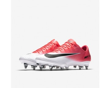 Nike Mercurial Vapor XI SG-PRO Mens Shoes Racer Pink/White/Black Style: 831941-601