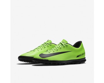 Nike Mercurial Vortex III TF Mens Shoes Electric Green/Flash Lime/White/Black Style: 831971-303