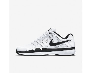 Nike Air Vapor Advantage Leather Mens Shoes White/Dark Grey/Black Style: 839235-100
