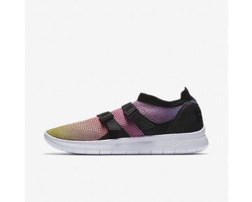 Nike Air Sock Racer Premium Flyknit Mens Shoes Yellow Strike/Racer Pink/Black/White Style: 898021-700