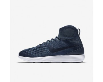 Nike Lunar Magista II Flyknit FC Mens Shoes College Navy/Metallic Gold Coin/Blue Fox/College Navy Style: 876385-400