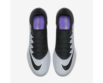 Nike MercurialX Finale II IC Mens Shoes Black/Hyper Grape/Wolf Grey/Black Style: 831974-005