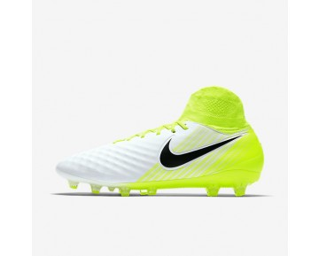 Nike Magista Orden II AG-PRO Mens Shoes White/Volt/Pure Platinum/Black Style: 843811-109