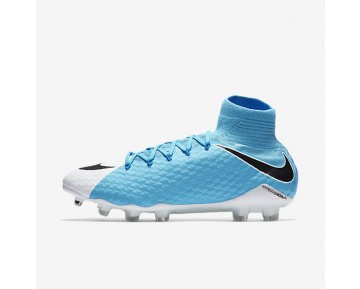 Nike Hypervenom Phatal III Dynamic Fit FG Mens Shoes Photo Blue/White/Chlorine Blue/Black Style: 878640-104