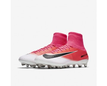 Nike Mercurial Superfly V AG-PRO Mens Shoes Racer Pink/White/Black Style: 831955-601
