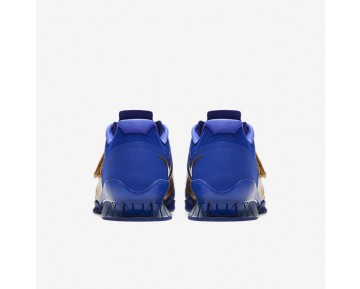 Nike Romaleos 3 Royal Reign Mens Shoes Concord/Metallic Gold/Paramount Blue/Metallic Gold Style: AA3156-400