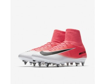 Nike Mercurial Superfly V Dynamic Fit SG-PRO Mens Shoes Racer Pink/White/Black Style: 831956-601