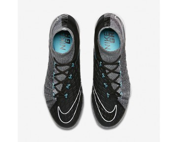 Nike HypervenomX Proximo II Dynamic Fit IC Mens Shoes Wolf Grey/Chlorine Blue/Black Style: 852577-004