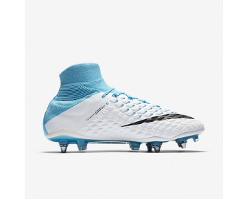 Nike Hypervenom Phantom 3 DF SG-PRO Mens Shoes Photo Blue/White/Chlorine Blue/Black Style: 852553-104