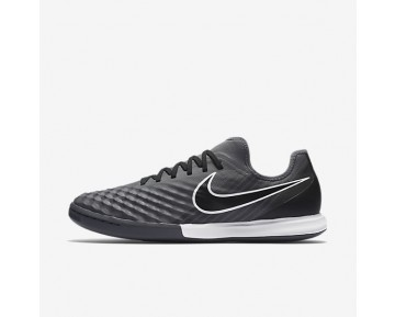Nike MagistaX Finale II IC Mens Shoes Dark Grey/White/Volt/Black Style: 844444-001
