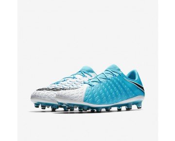 Nike Hypervenom Phantom 3 AG-PRO Mens Shoes Photo Blue/White/Chlorine Blue/Black Style: 852566-104