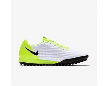 Nike Magista Onda II TF Mens Shoes White/Volt/Pure Platinum/Black Style: 844417-109
