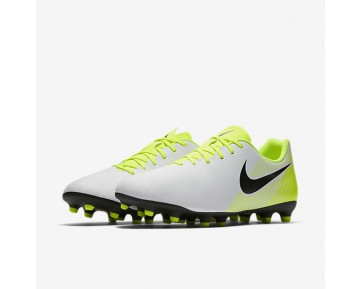 Nike Magista Ola II FG Mens Shoes White/Volt/Wolf Grey/Black Style: 844420-107
