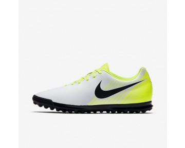 Nike Magista Ola II TF Mens Shoes White/Volt/Wolf Grey/Black Style: 844408-107