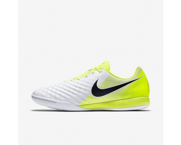Nike Magista Onda II IC Mens Shoes White/Volt/Pure Platinum/Black Style: 844413-109