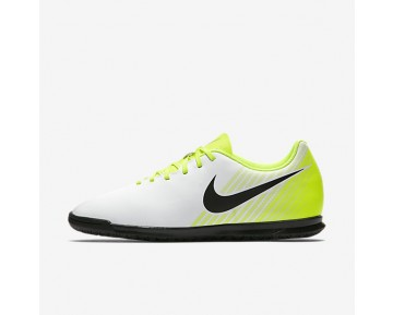 Nike Magista Ola II IC Mens Shoes White/Volt/Wolf Grey/Black Style: 844409-107